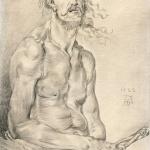 """Albrecht Durer copy - """"Man of Sorrows"""""""