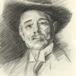 "John Singer Sargent copy - ""Ramacho Ortigao"""