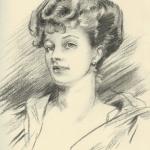 "John Singer Sargent copy - ""Woman"""