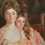 After John Singer Sargent - Mrs. Fiske Warren and her daughter, Rachel