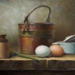 Terry's Eggs, 9x12 inches