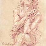 "Peter Paul Rubens copy - ""Daniel in the Lion's Den"""